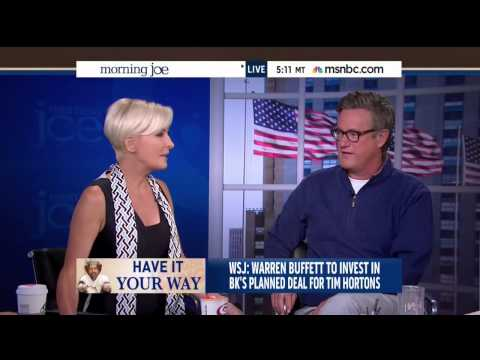 Morning Joe Panel Can't Understand Why Warren Buffett Wouldn't Want To Pay More Taxes