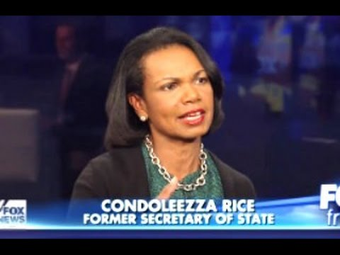 Condi Rice to Dems: 'Don't Tell Me How to Be Black'