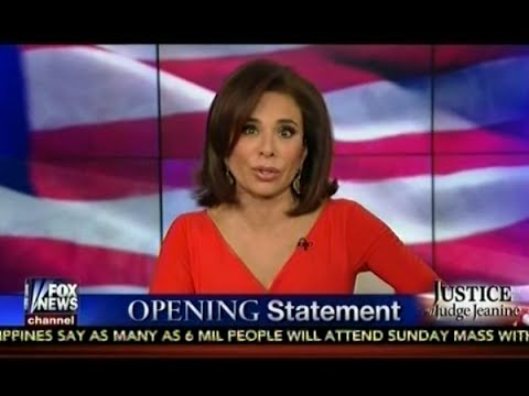 Judge Jeanine Pirro Opening Statement - GITMO, Radical Islam, War On Terror & Obama Admin
