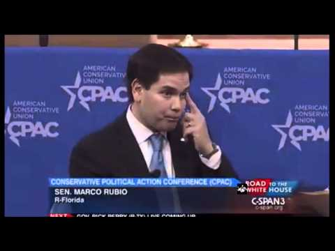 Marco Rubio CPAC 2015 Full Speech Marco Rubio Hillary Is Yesterday