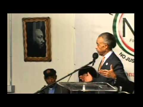 Sharpton Interrupts Speech To Address O'Keefe at NAN Rally