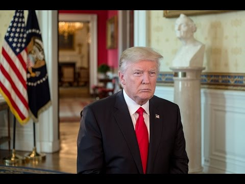 President Trump's First Weekly Address