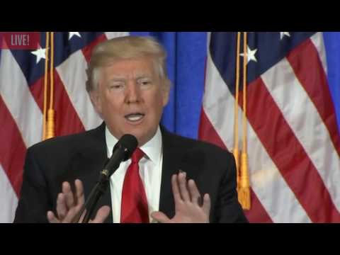 President Donald Trump Slams CNN and calls them Fake News!!!