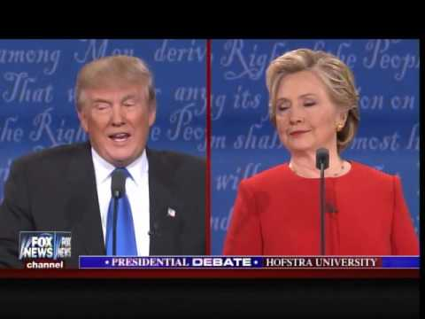 Hofstra Debate- Trump: I Will Release My Emails When She Releases Her 33,000 Deleted Emails