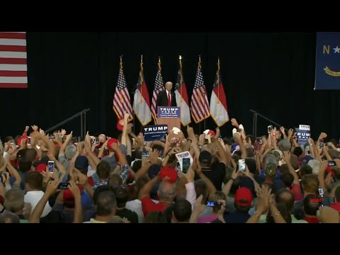 FULL EVENT: Donald Trump Holds Rally in Charlotte, NC 8/18/16