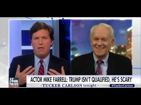 Tucker Carlson Takes on Mike Farrell Over Celebrity Push to Undo Election