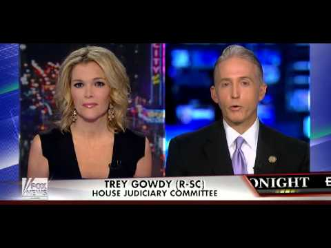 Rep. Gowdy: Death Threats 'Not Gonna Keep Me From Doing My Job'