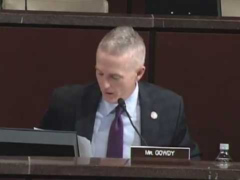 Chairman Gowdy's Opening Statement at First Benghazi Select Committee Hearing