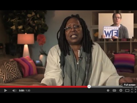 Whoopi Goldberg supports Communism. See this GOTV Ad