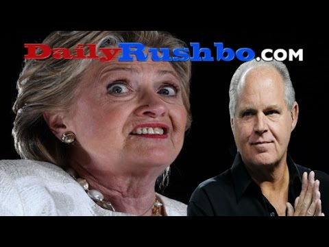 Rush Limbaugh Plays Montage Of Hillary As A Purveyor Of FAKE NEWS