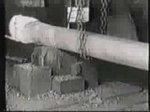 Hand forging chains (1) - Blacksmithing