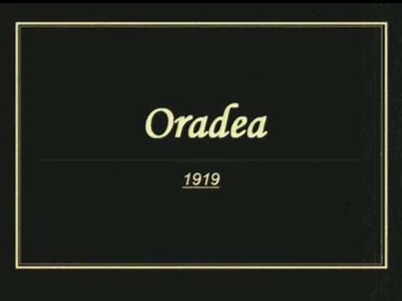 Oradea in 1919 on Chopin's Etude Op