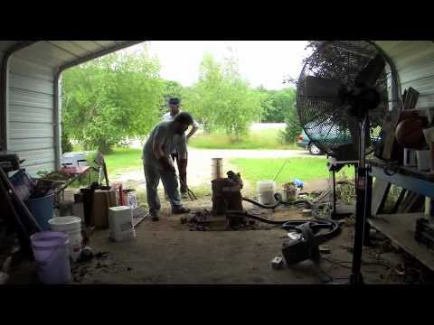 Iron Smelting and Bloom Forging part one