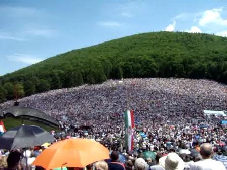 Székely Himnusz  - Csíksomlyó 2014 .