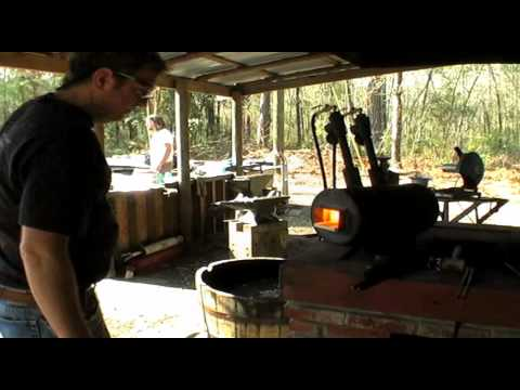 Scagel Knife Demo by Todd Maund / Part Two / Work on the Tang