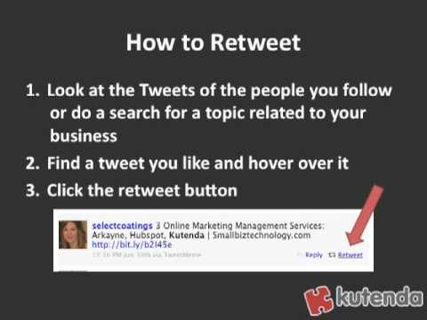 Twitter Marketing Tip: Use Quick Retweets to Stay Active