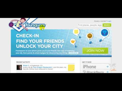Mayor of Foursquare Business Tutorial