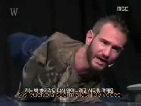 Nick Vujicic (Subtitulado) - ¿Vas a acabar siendo fuerte?