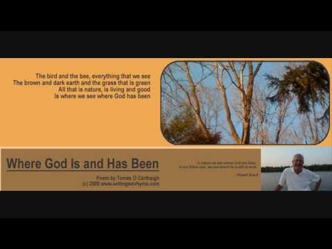 Where God Is and Has Been