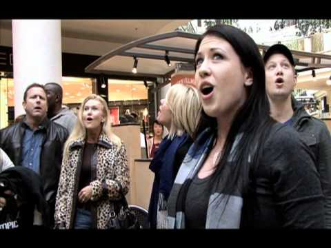 Christmas Flash Mob by Journey of Faith at South Bay Galleria - official video
