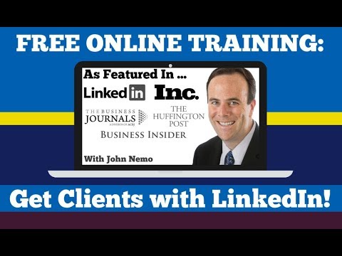 LinkedIn Riches with John Nemo