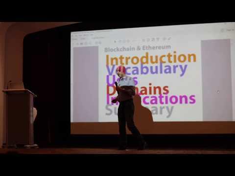 """David Siegel -  Blockchain & Ethereum at """"Next in Tech"""""""