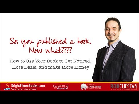 Authors: So you published a book, now what?