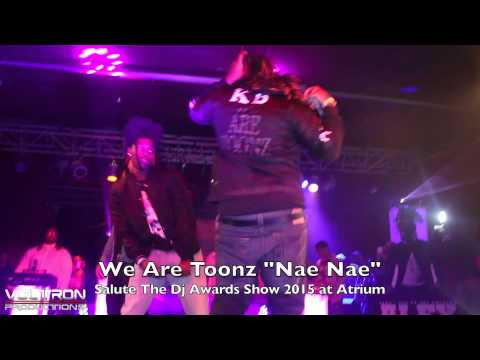 """We Are Toonz Present Awards at Salute The Dj's Awards Show 2015 & Perform """"Nae Nae"""""""