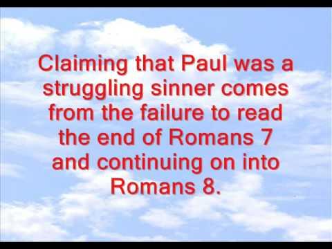 Paul The Sinner?