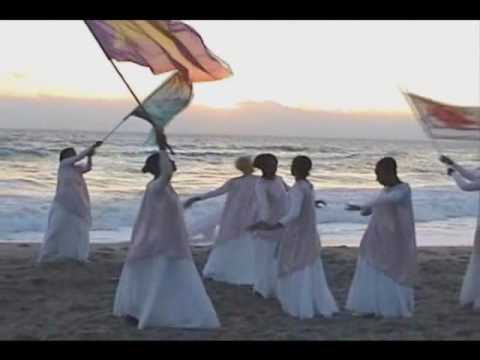 """Sacred Dance on the Beach Part 1:  """"In Christ Alone"""""""