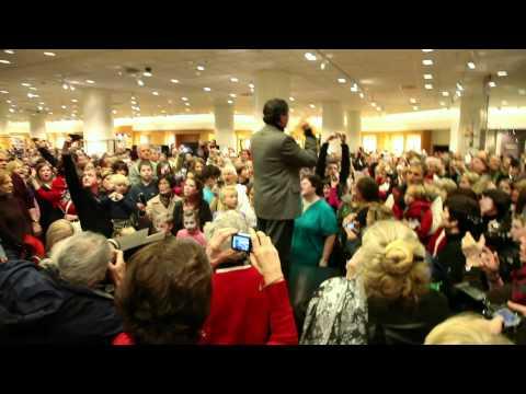 Seattle Symphony's Hallelujah Chorus flash mob at Nordstrom