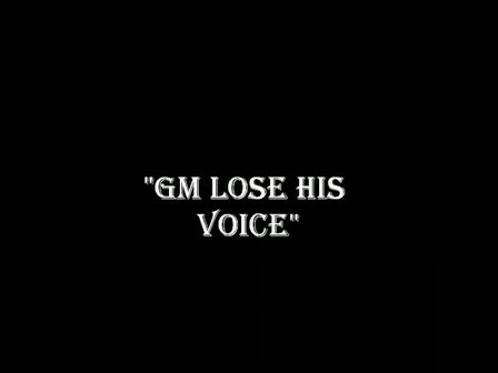 GM LOSE HIS VOICE_SD