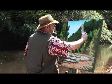 "Rod Coyne's ""Secrets of the Palette Knife"" trailer"