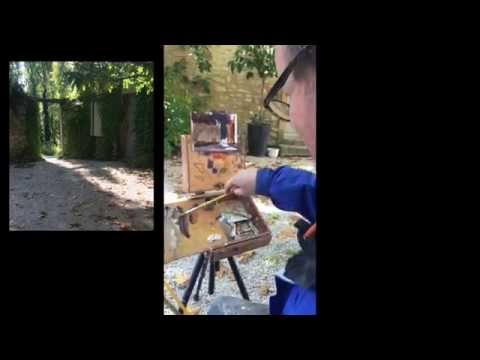Julian Merrow-Smith Painting Demonstration