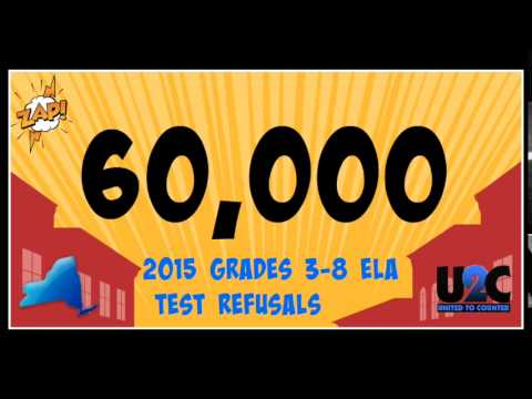 UNITED TO COUNTER NYS REFUSES THE TEST 2015 ELA