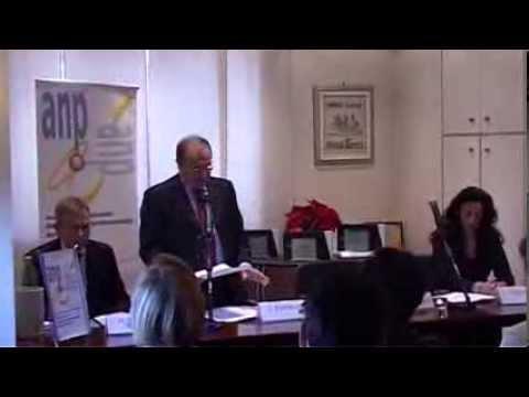 """Premiazione """"ANP per l'Innovazione 2013"""", intervento G. Rembado"""