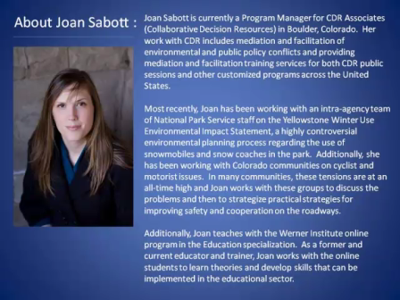 Citizen Groups and Collaboration with Joan Sabott