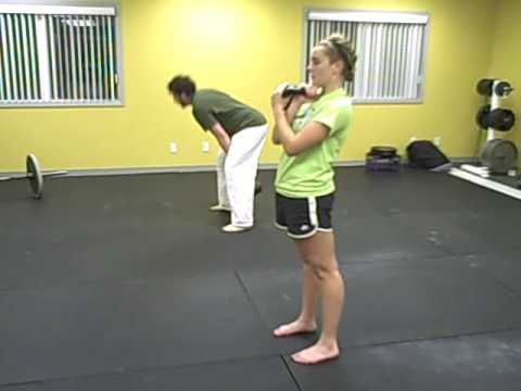 Kettlebell Reverse Lunges