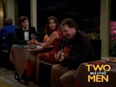 """Michael in """"Two And A Half Men"""" aired on 27th September, 2012"""