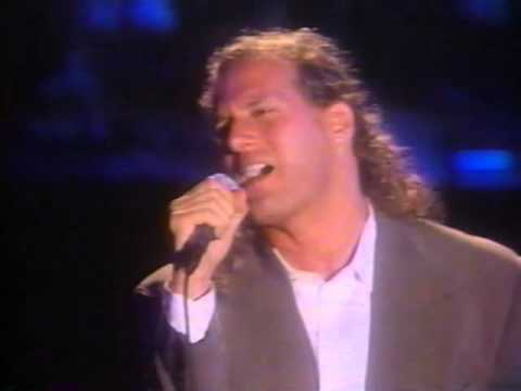 Joey Melotti/Michael Bolton 1992 on Arsenio When a Man Loves a woman
