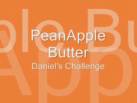 PeanApple Butter