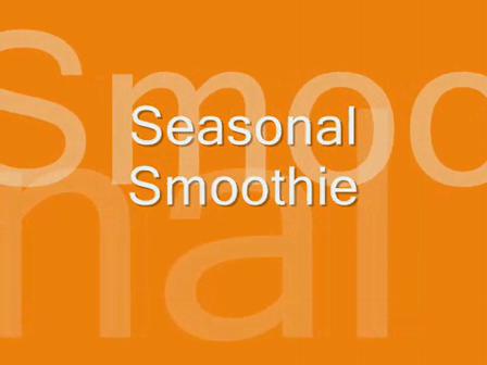 Seasonal Smoothie