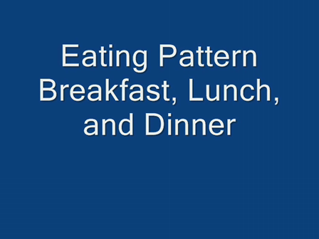 Successful Eating Pattern