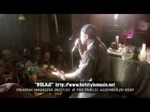 Drahma Magazine Presents Bolaji Live @ PUBLIC ASSEMBLY