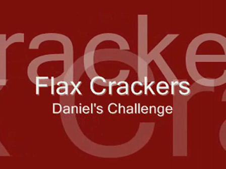Italian Style Flax Crackers
