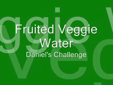 Fruited Veggie Water