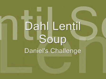 Dahl Lentil Soup