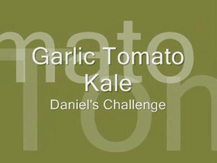 Garlic Tomato Kale