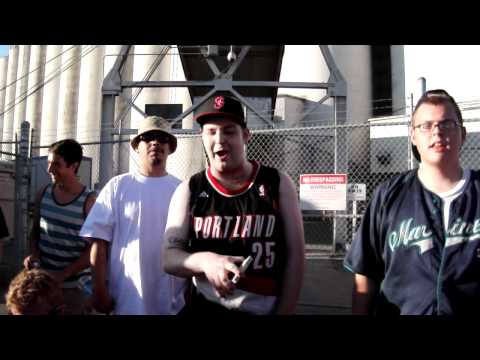 Hempfest Battle Rap Freestyle - Ed Witty On The Beat
