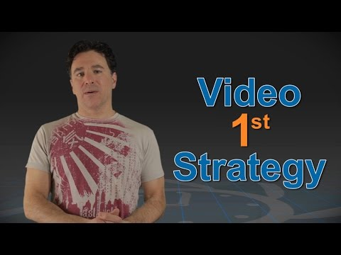 Video 1st content marketing strategy with video production services